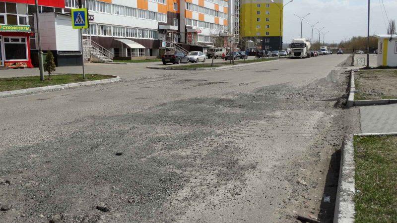 """Весенние дороги в пензенском лакшери-городке """"Спутник"""""""