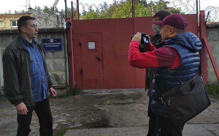 Активист Герасимов на свободе. Борьба за забор продолжается