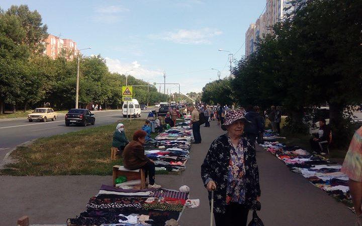 Блошиный рынок. Хабаровск по-пензенски