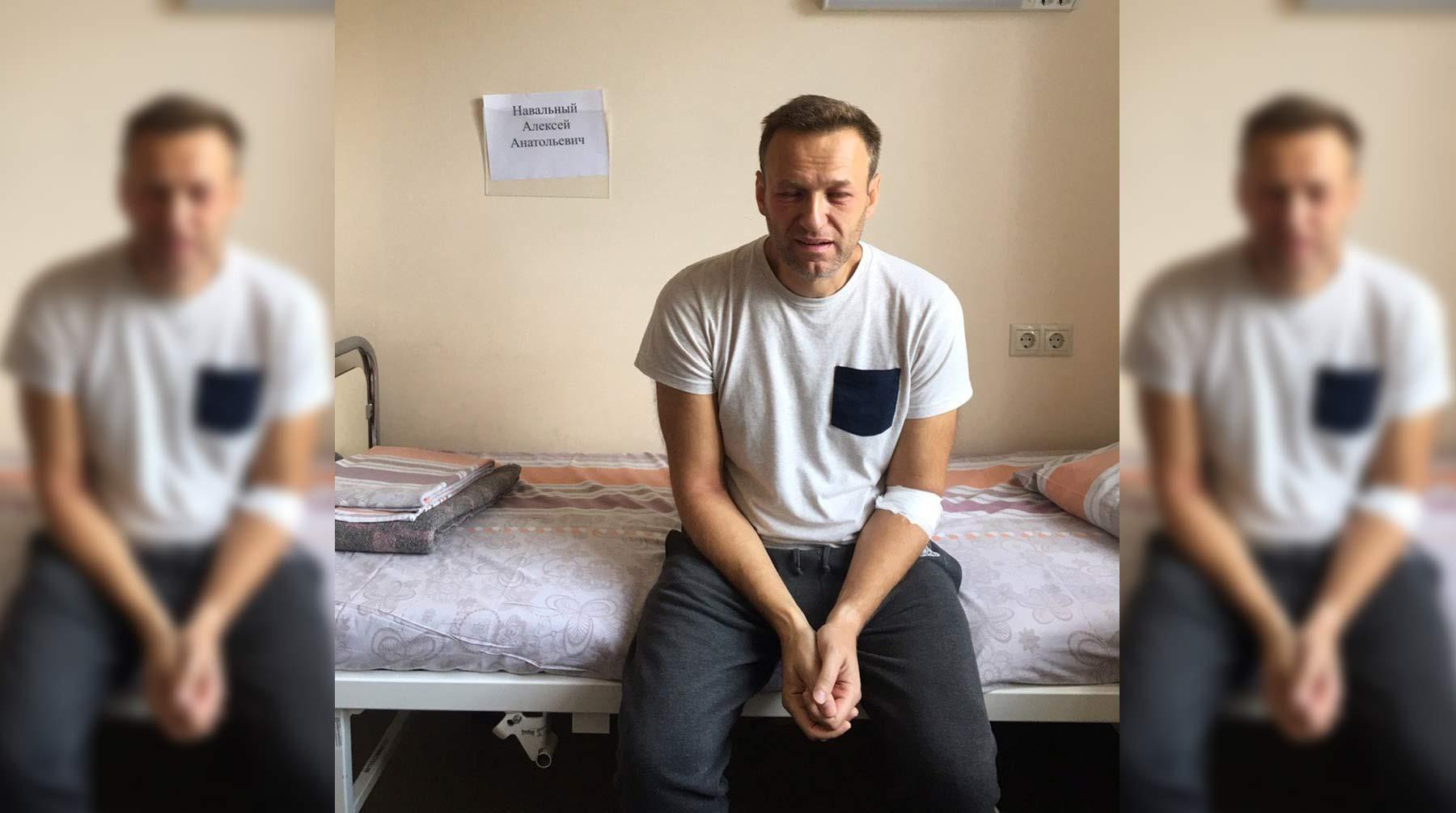 Неужели Навального травили тиофосом?
