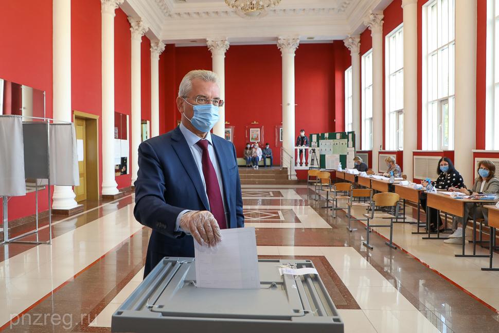Губернатор Пензенской области Иван Белозерцев перебрал на выборах
