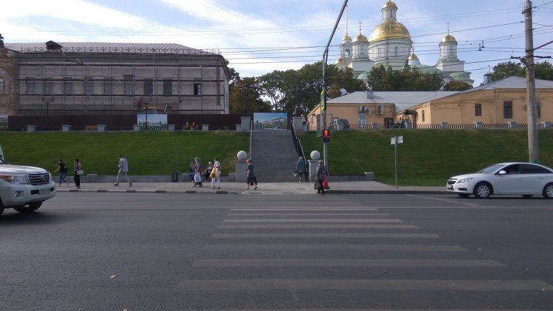 Лестница к храму привела к мэру Пензы Лузгину