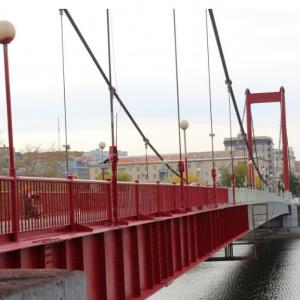 Покраска моста. Пятнадцать лет назад