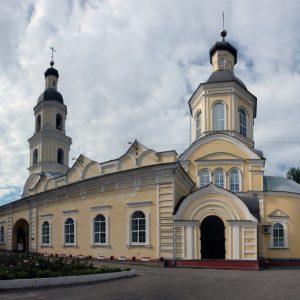 Рубка шашкой в Покровском архиерейском соборе
