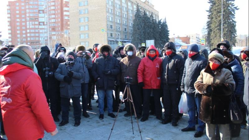 Акция в Пензе 23 февраля, о которой так много говорили коммунисты, состоялась