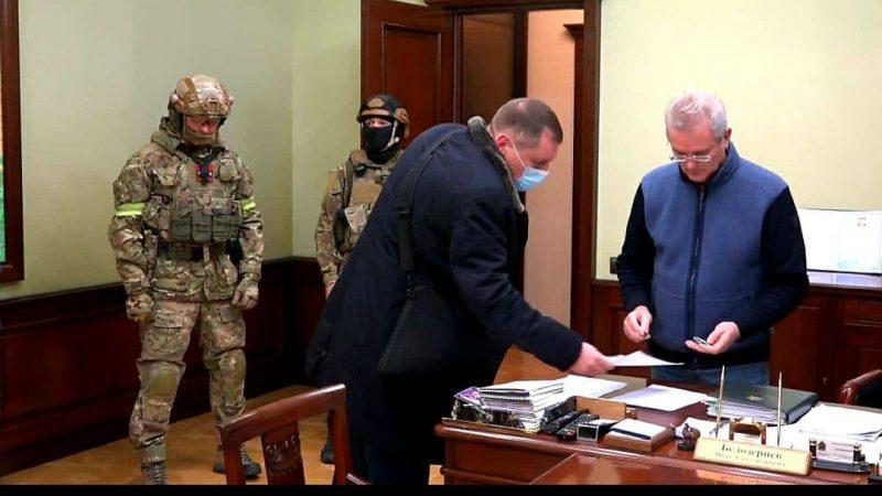Задержание пензенского губернатора Белозерцева. Аспекты  внутренние и внешние