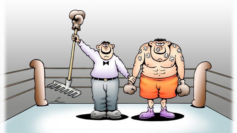 Депутат Борисов ещё и КМС по боксу? Нет, показалось!