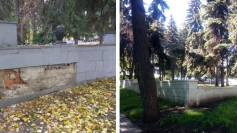 """В Пензе написали заявление в прокуратуру по факту исчезновения ограждения """"Революционного некрополя"""""""