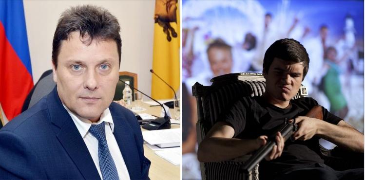 Пензенский министр образования Воронков попал в кинообзор BadComedian